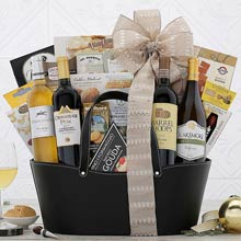 Deluxe Edition Wine Gift Basket