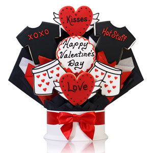 Love and Kisses Valentine Bouquet