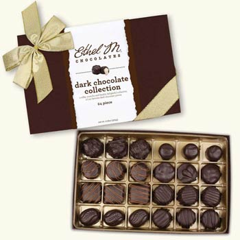Ethel M Dark Chocolate Gift Box