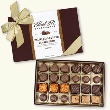Ethel M Milk Chocolate Gift Box