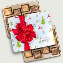 Ethel M Holiday Pecan Brittle Tin