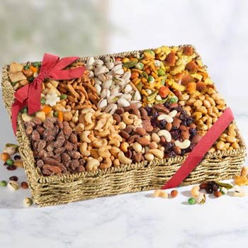 Office Nut Gift Basket