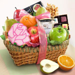 Springtime Fruit Gift Basket