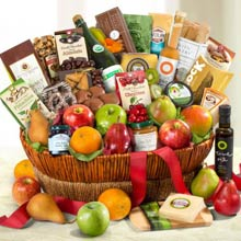 Gourmet Thank You Fruit Basket