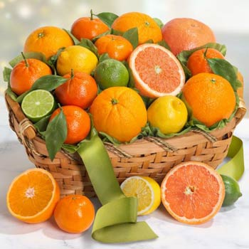 Sweet Citrus Fruit Basket