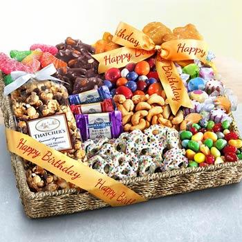 Birthday Treats Snack Basket