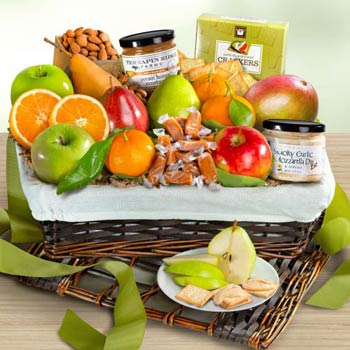 Executive Gourmet Fruit Basket