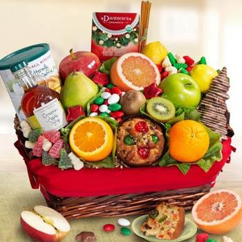 Christmas Brunch Fruit Gift Basket