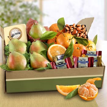 Office Fruit and Nut Gift Box