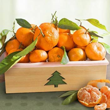 Mandarin Fruit Gift Box