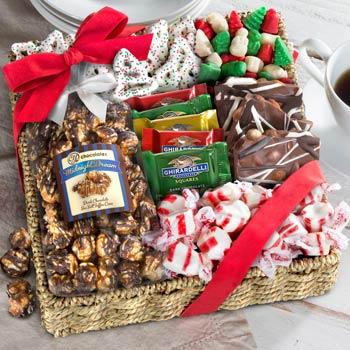 Holiday Snack Basket