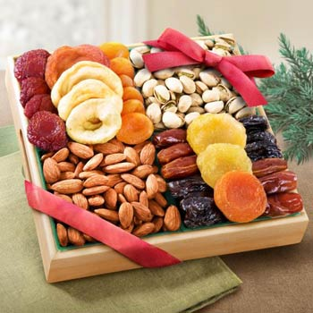 Dried Fruit and Nut Gift Box