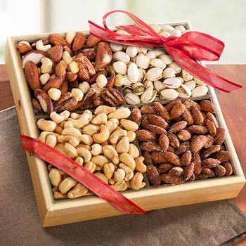Nut Harvest Party Gift Box