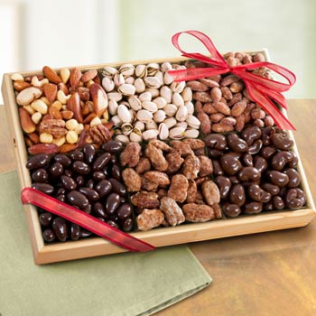 Nut and Chocolate Gift Box