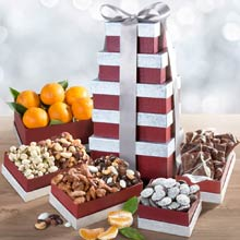 Fruit & Snacks Gift Tower