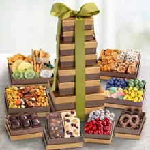 Deluxe Snack Gift Tower
