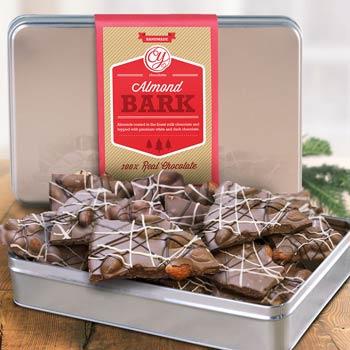 Christmas Chocolate Bark Gift Box