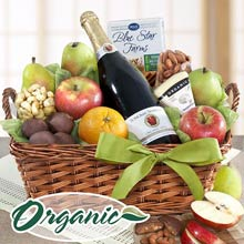 Organic Gourmet Fruit Basket