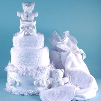 Baby Angel Cake Gift Tower