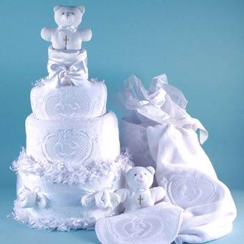 Baby Angel Cake Gift Tower