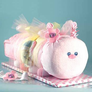 New Baby Girl Caterpillar Gift
