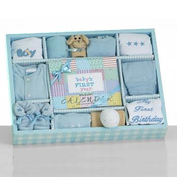 Baby Boy First Year Gift Box