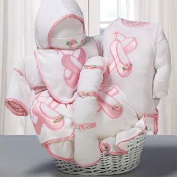 Baby Ballerina Gift Basket