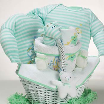 Good Night Baby Gift Basket