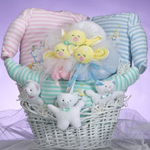 Good Night Triplets Gift Basket