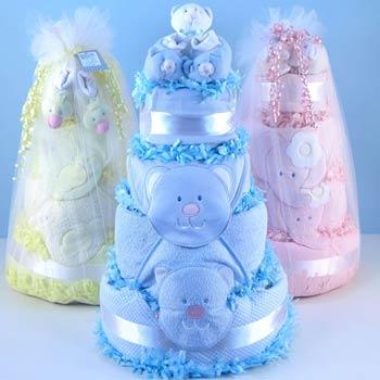 Baby Cake Gift Tower