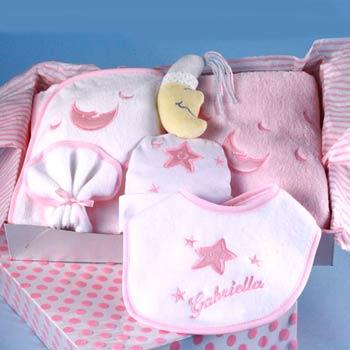 Sleepy Time Baby Girl Gift Box