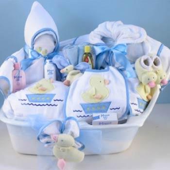 Baby Boy Spa Gift Basket