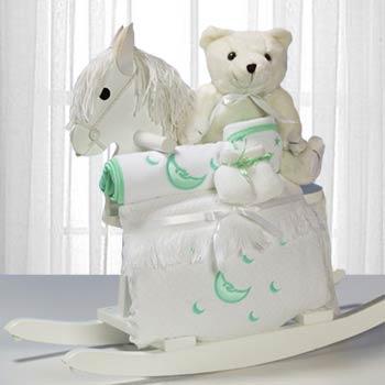 New Baby Rocking Horse Gift