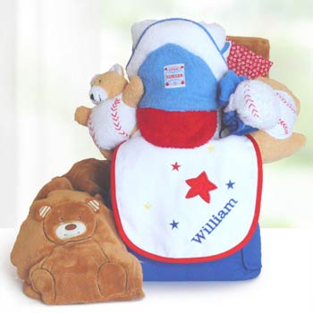 Personalized Baseball Gift for Baby Boy