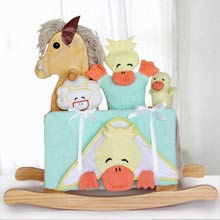 Rocking Horse Bath Time Gift