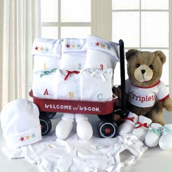 Welcome Wagon for Triplets