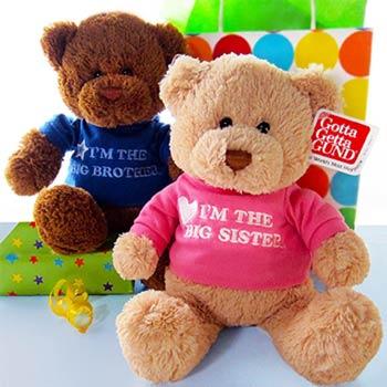 Big Siblings Teddy Bear