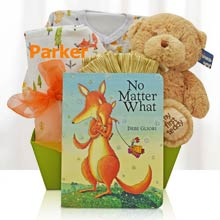 Sweet Fox Baby Gift Basket
