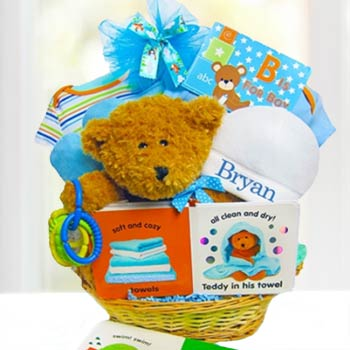 Personalized All Boy Gift Basket