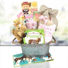 Cowgirl Basket for Baby