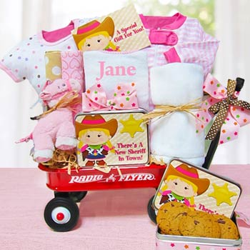 Cowgirl Radio Flyer Wagon