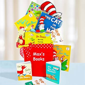 Dr. Seuss Fun with Books Basket