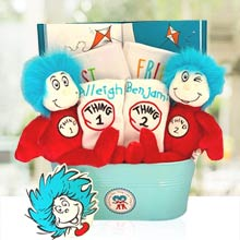 Dr. Seuss Twins Gift Basket