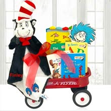 Dr. Seuss Radio Flyer Wagon