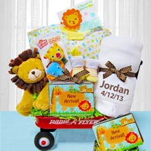 Deluxe Welcome Wagon for Boy or Girl