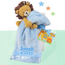 Personalized Boy Lion Gift Box