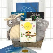 Reading Fun Owl Gift Basket