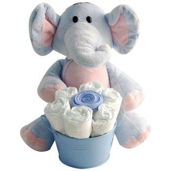 Baby Boy Elephant Gift