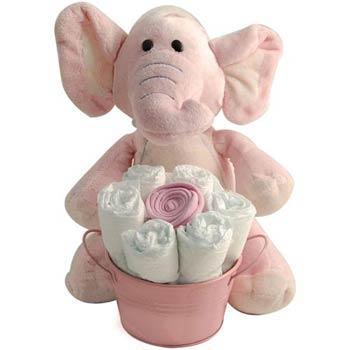 Baby Girl Elephant Gift