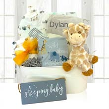 Baby Neutral Jungle Gift Basket